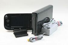 Sehr guter Zustand - Nintendo Wii U schwarz 32 GB mit 4 Spielen