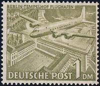 BERLIN, MiNr. 57 X a, fall. Wz., tadellos postfrisch, gepr. Schlegel, Mi. 150,-