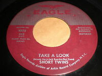 Short Twins: Take A Look / I'm Gonna Love You More And More 45 - Teen