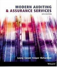 Modern Auditing and Assurance Services 6th Edition 9781118615249