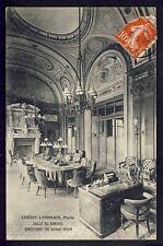 Carte Postale FRANCE 75 - PARIS Banque CRÉDIT LYONNAIS Directors or Board Room