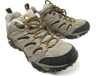Merrell Continuum Mens Walnut Hiking Shoes Size US 8 No Insoles