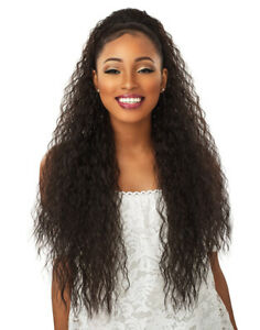 """Sensationnel Instant Pony French Wave 30"""" Synthetic Ponytail"""