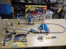 Vintage 1987 Complete Set LEGO Space Monorail Transport System 6990 w/ Box 100%