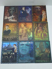 Harry Potter Order of the Phoenix Artbox Foil / Puzzle Card Complete Set of 9