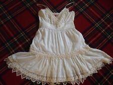 FAB Joe Browns White/Cream Lacy Summer Sun Dress 16 UK 12 USA 44 EUR PRETTY!