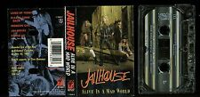 Jailhouse Alive In A Mad World USA Cassette Tape