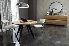 runder Tisch rund Esstisch Akazie massiv Massivholztisch Modern Nordic Ø Design
