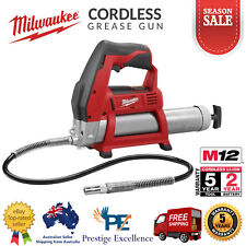 Milwaukee M12GG-0 12V Li-Ion Battery Operated Cordless Grease Gun Skin Tool Only