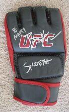 UFC CHAMPION BENSON HENDERSON AUTOGRAPHED GENUINE HAND SIGNED UFC FIGHT GLOVE