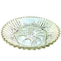 Federal Glass Pioneer 2806 Intaglio Fruit Pattern 10″ Bowl Vintage