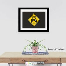 Gamer Zone Gaming Sign Photo Poster Print ONLY Wall Art Size A4 Gamer Elite