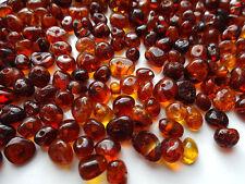 Naturbernstein gebohrt auffädeln 5gr ca.100 Perlen - Wählen  Farbe