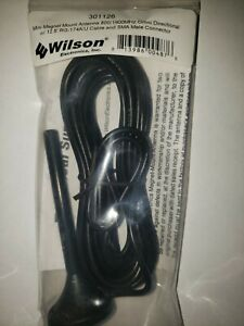 Wilson Electronics 301126 4 inch Mini Magnet Mount Antenna with SMA-Male...