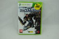 Jeu WARHAMMER 40K SPACE MARINE sur Xbox 360 NEUF sous blister VF PAL