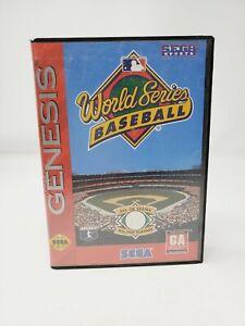 World Series Baseball (Sega Genesis) 1995 CIB Complete Authentic
