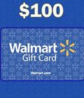Walmart Gift Card $100 Physical Delivery