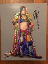 Ausuka autographed 8X10 WWF WWE NXT TNA Divas