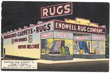 Linen Postcard Endwell Rug Company in Endwell, New York~104899
