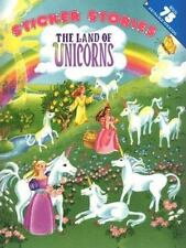 Sticker Stories: Land of Unicorns by Nancy Sippel Carpenter c1999 NEW Paperback