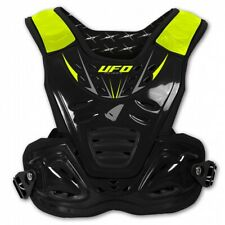 UFO Reactor Protector Youth Body Amrour MX Motocross Kids Roost Tabard Black
