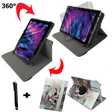 10.1 zoll Tablet Tasche -   Tablet PC XTE10D Etui Hülle - 360° Katze 2 Motiv