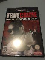 ❤️ Pal ita neuf Nintendo Gamecube true crime new york city sous blister