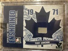 In The Game Superlative Vault 2008-09 Enshrined Terry Sawchuk Jersey #d /9 Leafs