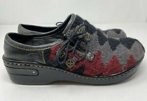 Born Kilim Women's 10 /42 M  Aztec southwestern clogs shoes