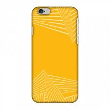 AMZER Snap On Designer Case Redux Cyber Yellow 3 Plastic Protective Phone Cover