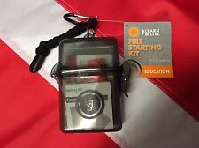 Fire starting Kit learn&live survival gear emergency disaster tactical UST