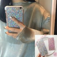 Shockproof Luxury Glitter Bling Soft Silicone Case Cover For iPhone Samsung
