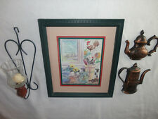Home Interiors ''Welcome to my Kitchen'' Picture & Sconce   6pc Gorgeous  SALE