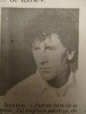 ALAIN SOUCHON: J'AIME FAIRE LE CHANTEUR + JULIEN CLERC: FLASH BACK - 13/12/1990