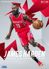 "NBA COLLECTION: JAMES HARDEN MOTION MASTERPIECE 1/9 Action Figure 8"" ENTERBAY"