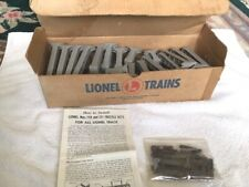 LIONEL GRAY 110 GRADUATED TRESTLE SET in ORIGINAL BOX, VG Condition