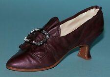 "Just the Right Shoe, Raine, ""Washington Dress Shoe"" set miniature # 25414/412"