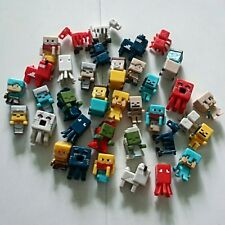 Fancy 36 PCs/lot 1.5 cm - 3 cm Minecraft Toys Characters action Figure Toy Cute