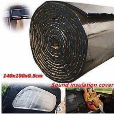 Car Turbo Exhaust Heat Shield Mat Muffler Hood Insulation Fiberglass Cotton Mat