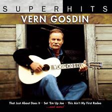 Super Hits - Vern Gosdin [CD, NEW] FREE SHIPPING