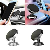 360° Magnetic Car Dashboard Phone Holder Mount Stand Universal GPS For Cell L8N6
