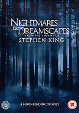 Stephen King's Nightmares And Dreamscapes (DVD, 2007, 3-Disc Set, Box Set)