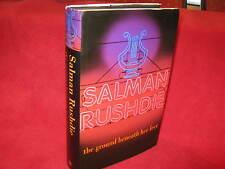 The Ground Beneath Her Feet ~ Salman RUSHDIE  1st Printing!  HbDj A GEM! in MELB