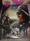 Brand New Jack the Giant Slayer Original Double side Movie Poster