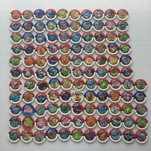 115x Pokemon Battrio Disks/pucks Japanese bulk lot Pokémon Promo Eevee squirtle
