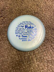 Used Kastaplast K1 Soft REKO K-Team Fundraiser 2021 Limited Edition 172g