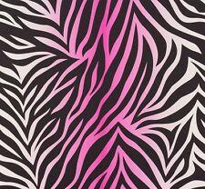 Vliestapete Nena Designer Marburg Zebra pink schwarz 57269 (2,23€/1qm)