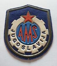 AMS- Yugoslavia - Automobile Association Car Rescue - OLD PATCH...