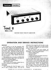 Harman Kardon A-1040 Receiver Owners Manual