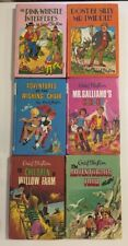 ENID BLYTON set 6 1970's Hardcover Books Mr Pink-Whistle Interferes Mr Galliano